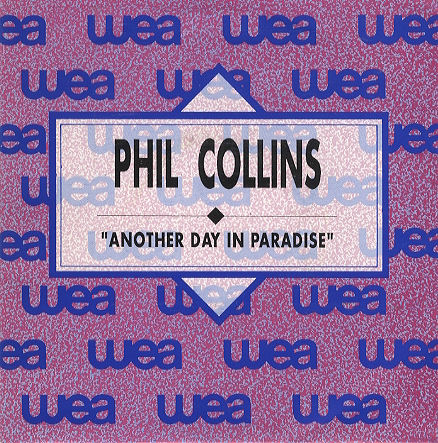 phil collins singles another day in paradise. Black Bedroom Furniture Sets. Home Design Ideas