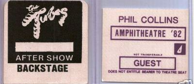 Phil Collins Gt Tourn 233 Es Gt Hello I Must Be Going Tour 1982 1983