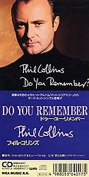 Phil Collins Gt Singles Gt Do You Remember